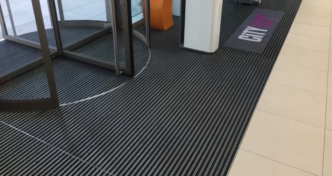 City of Glasgow College Plan.a entrance matting