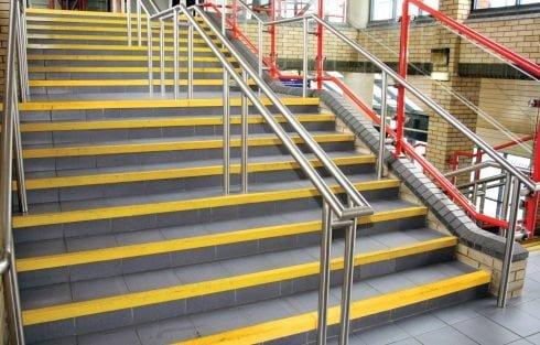 COBAGRiP Yellow GRP Stair Nosing