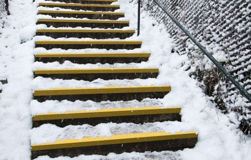 COBAGRiP Yellow GRP Stair Tread