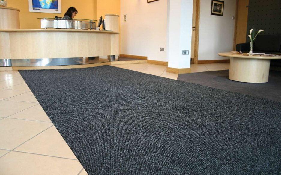 Needlepunch carpet entrance matting