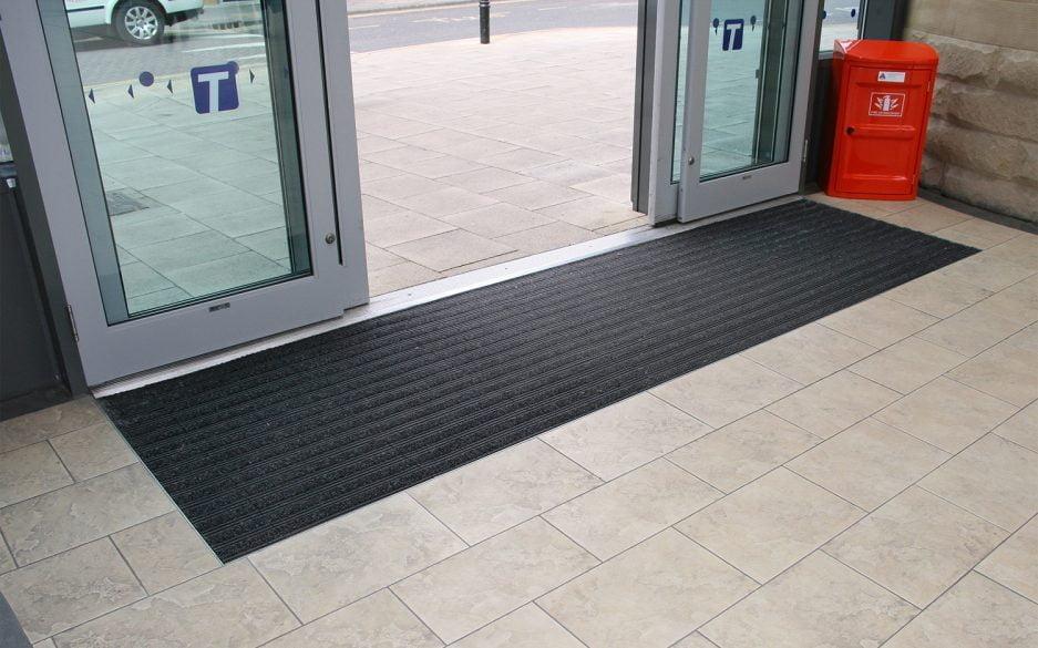 Premier Plus entrance tiles - Barnsley