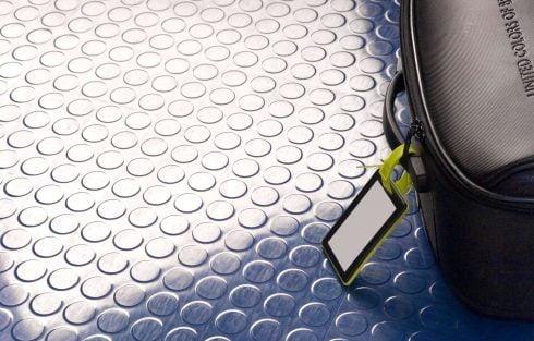 Studded Tile flooring