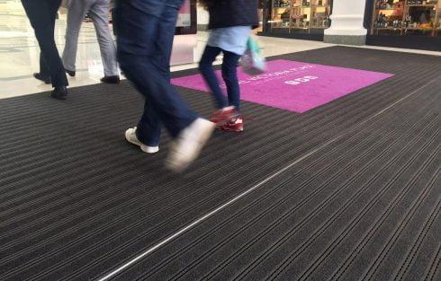 Shopping Centre entrance matting
