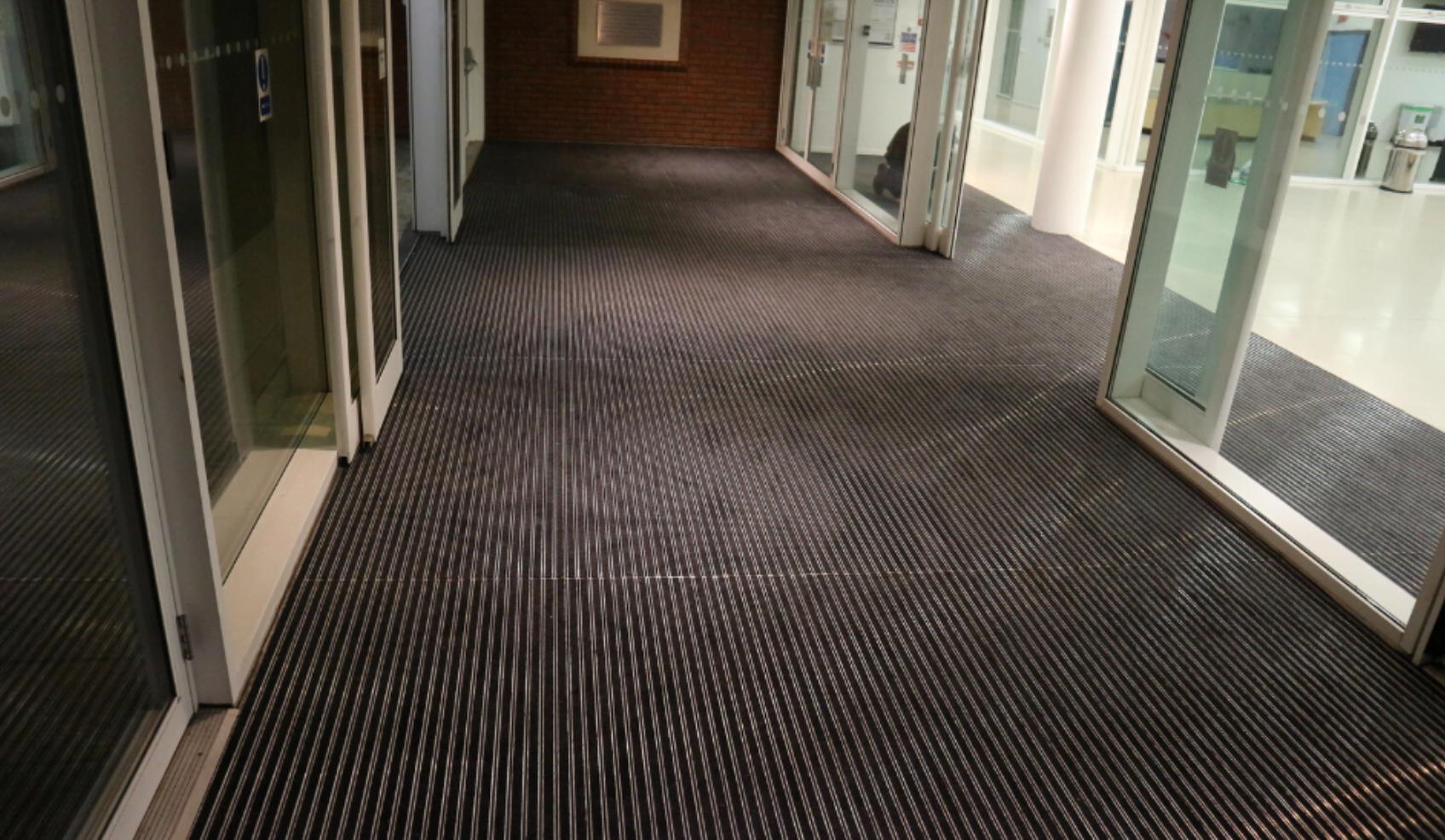 after entrance matting