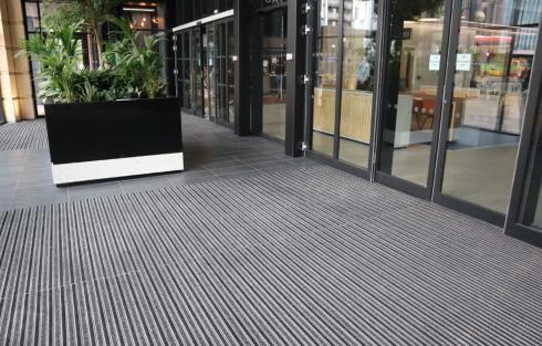 anchorage public building entrance matting