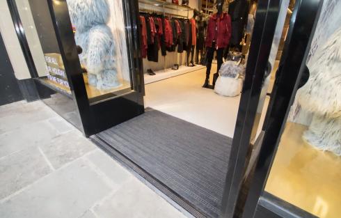 diesel store entrance matting