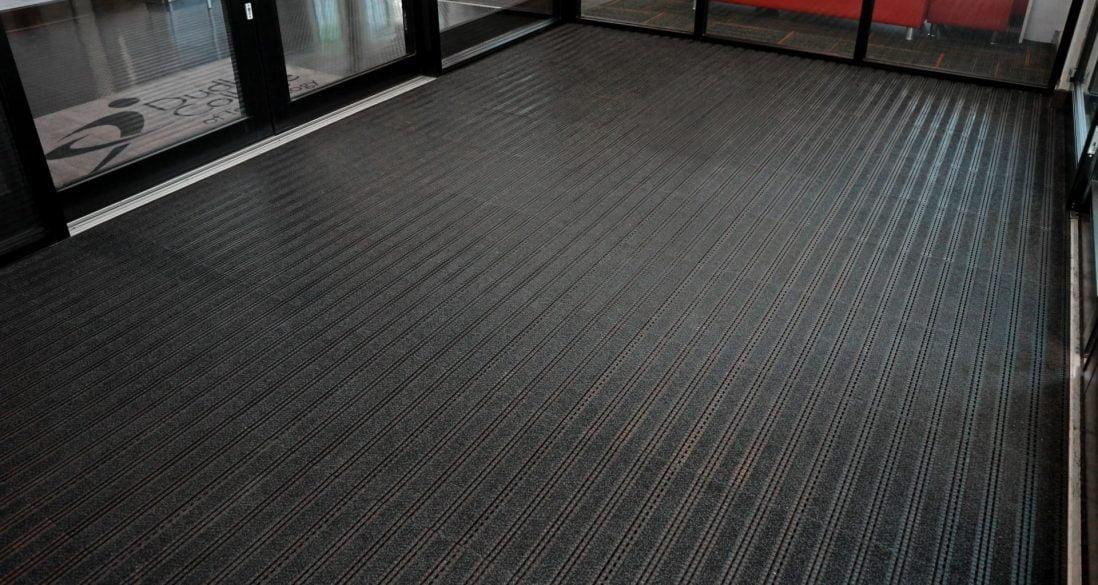 dudley college entrance matting