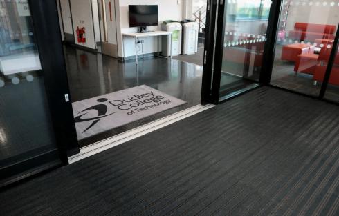 entrance matting dudley college