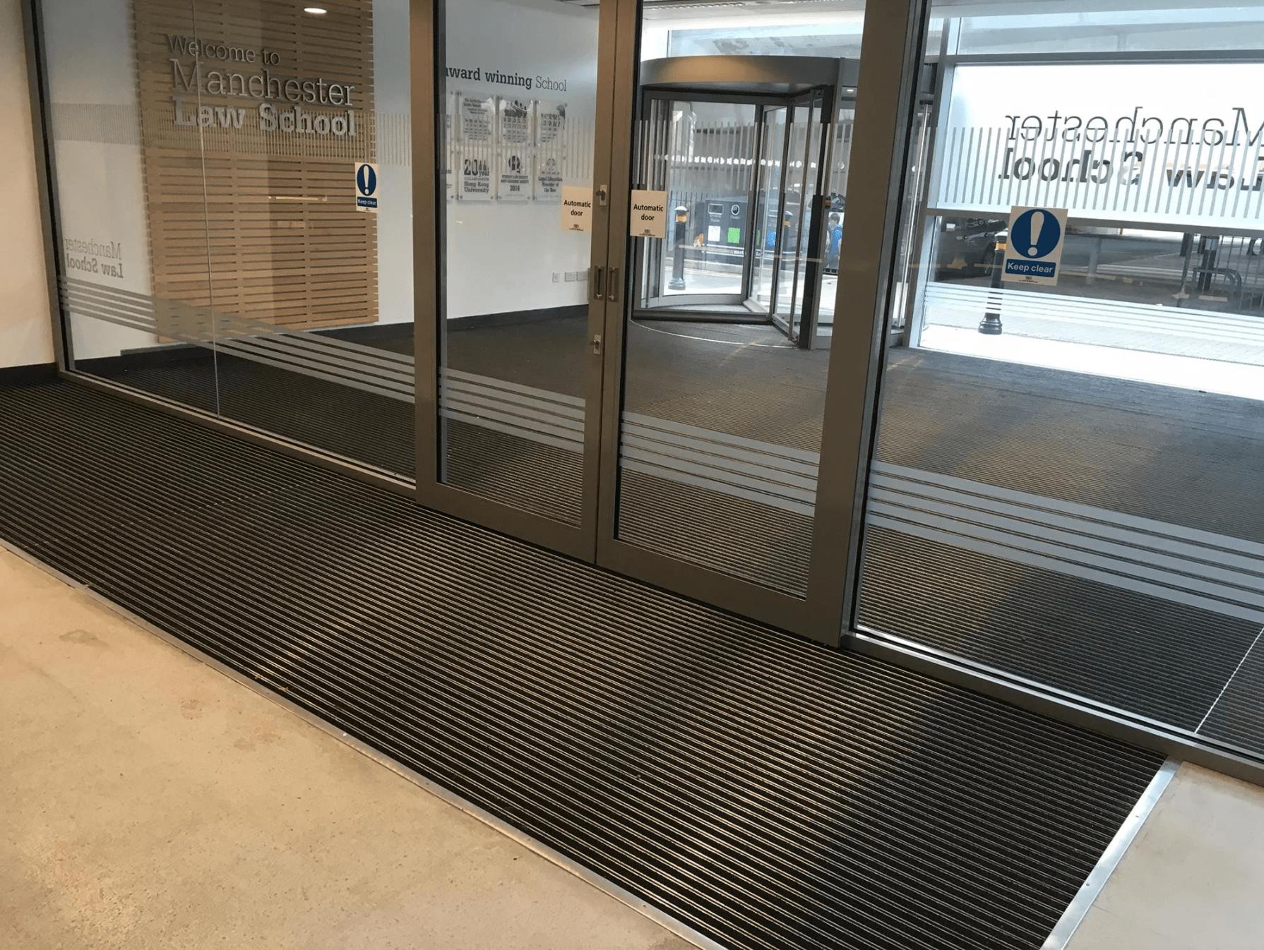 entrance matting manchester university