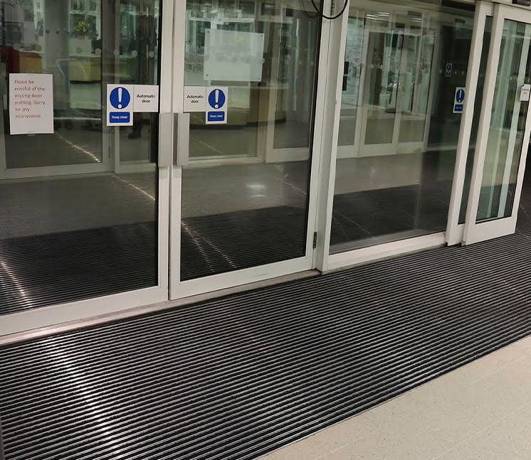 flooring for hospital entrance