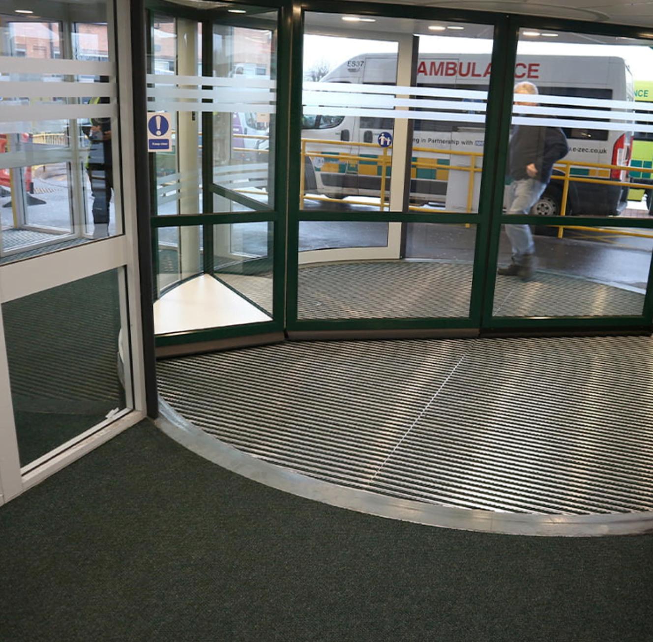 stafford hospital entrance matting