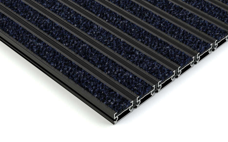 plan.a closed anodized aluminium entrance matting