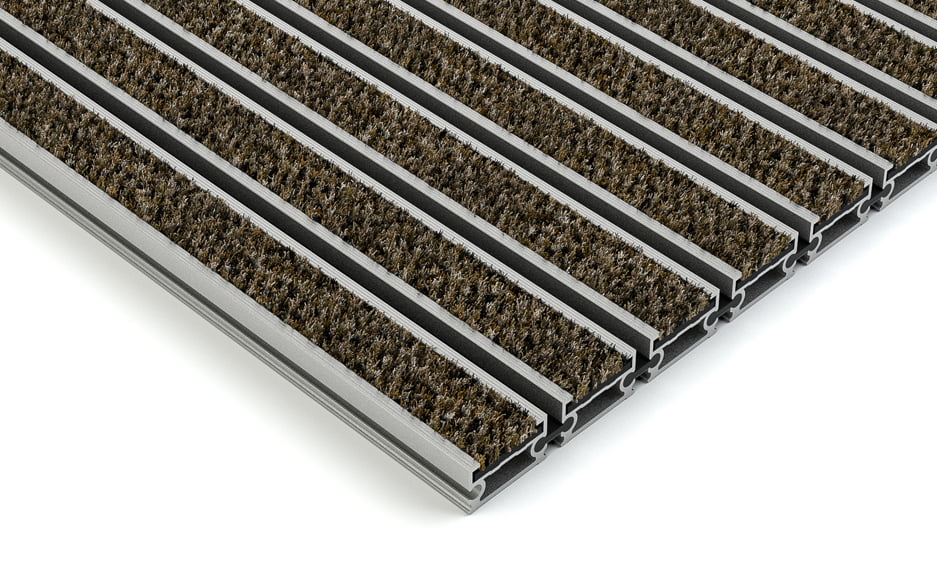 plan.a open aluminium entrance matting