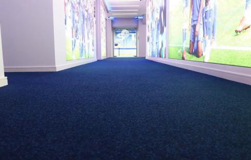 stadium entrance matting
