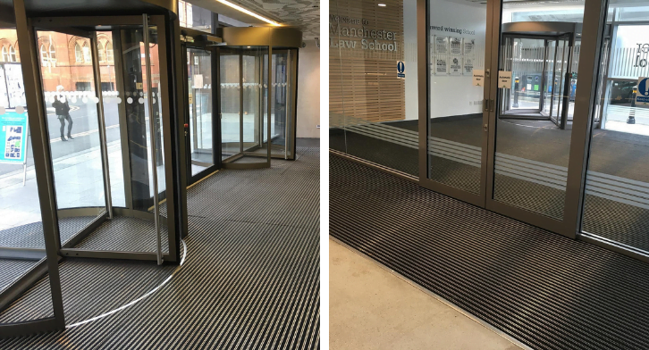 university entrance matting