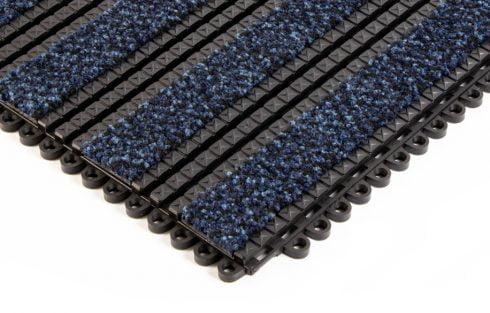 premier track blue entrance matting tiles