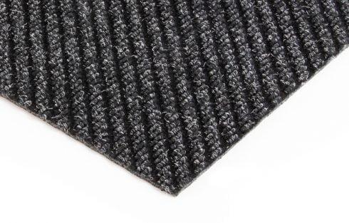 toughrib diagonal charcoal entrance mattting